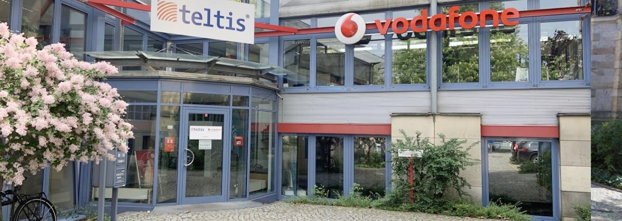 Vodafone Eingang