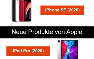 Neue Apple Geräte